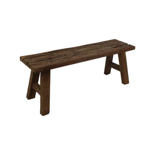 Ławka z drewna tekowego HSM collection Wood