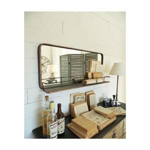 Nástěnné zrcadlo s poličkou Orchidea Milano Orient Express, 40 x 90 cm