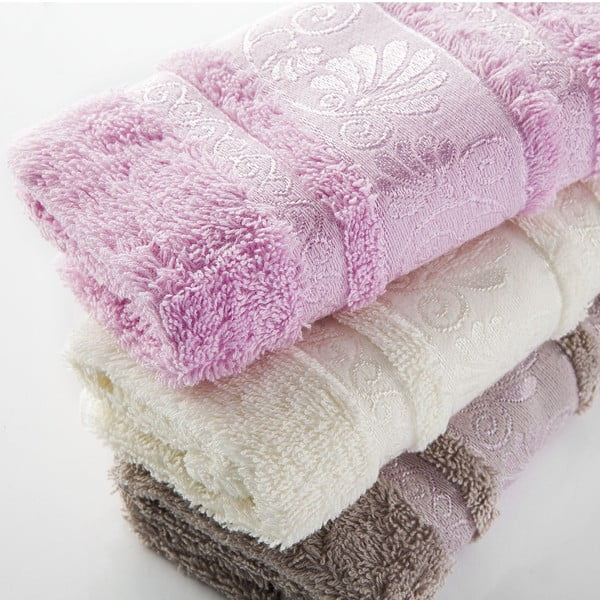 Sada 3 ručníků Carmen V1, 30x50 cm
