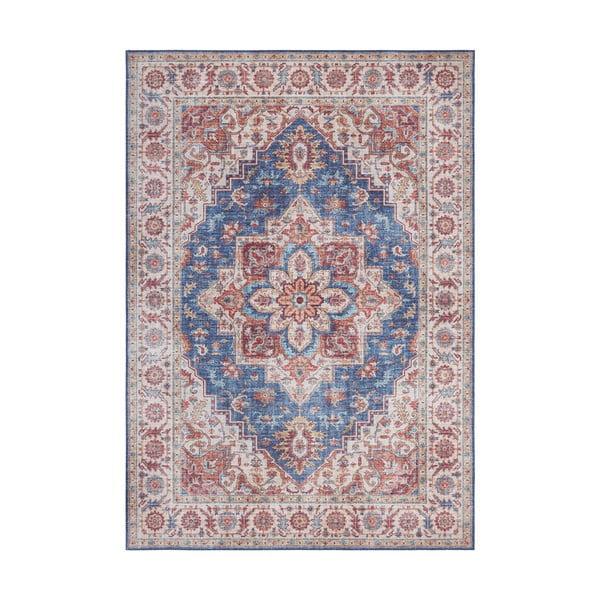 Niebiesko-czerwony dywan Nouristan Anthea, 160x230 cm