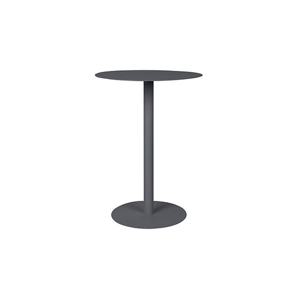 Tmavě šedý odkládací stolek Elvi