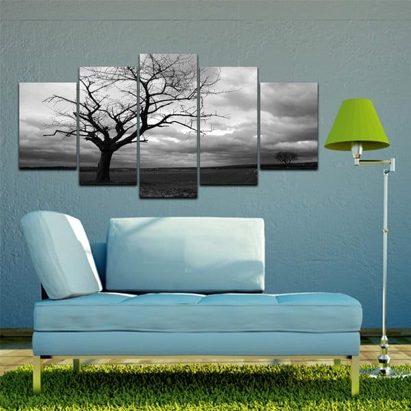 Vícedílný obraz Black&White no. 37, 100x50 cm