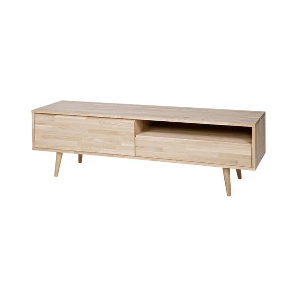 TV stolík z dubového dreva WOOOD Tygos