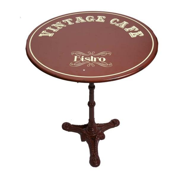 Kovový stolek Antic Line Vintage Cafe, ⌀ 61,5cm