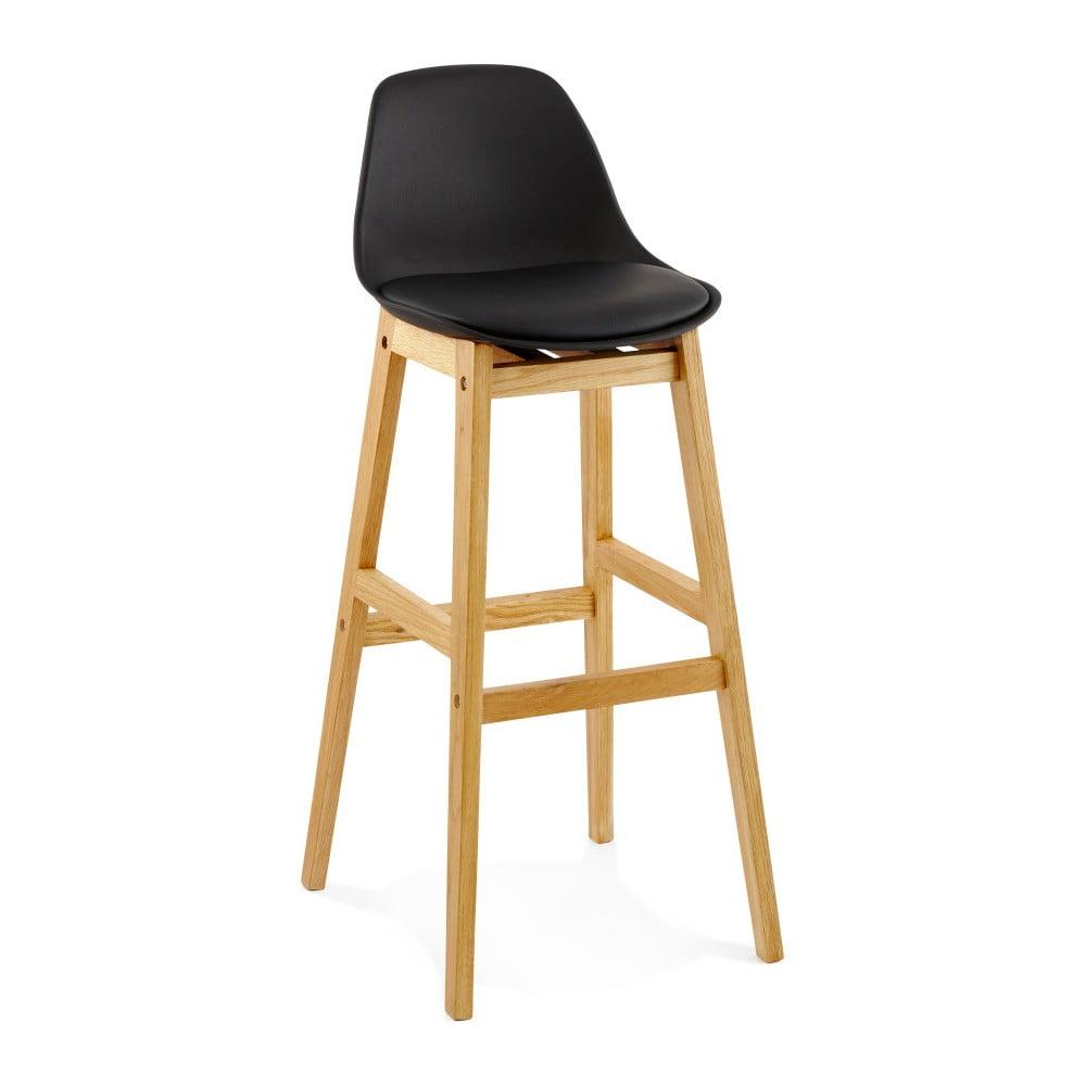 Černá barová židle Kokoon Elody, výška 102 cm