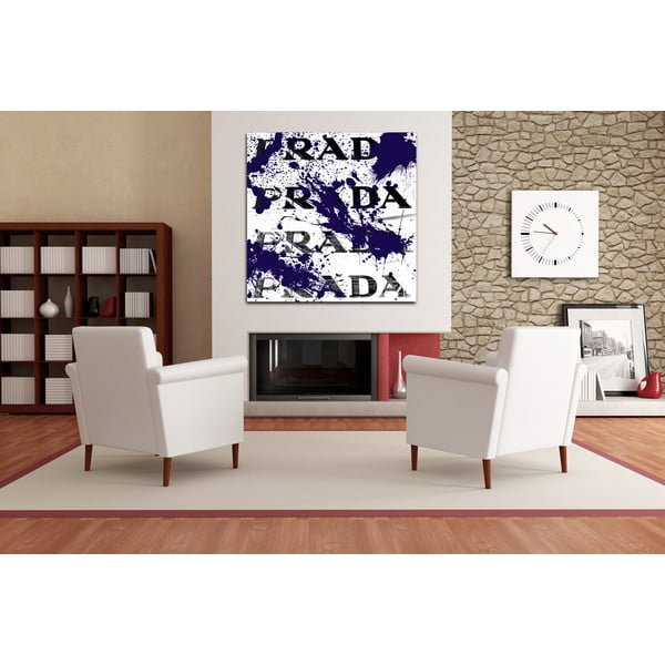 Obraz Beautiful Vandal White, 91x91 cm
