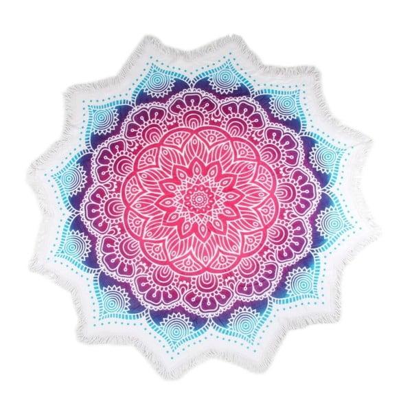 Okrągły ręcznik plażowy z bawełny HIP Helena, ⌀ 1,6 m