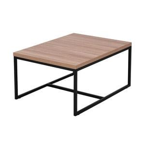Konferenční stolek s deskou Windsor & Co Sofas Plateia, 80x70cm