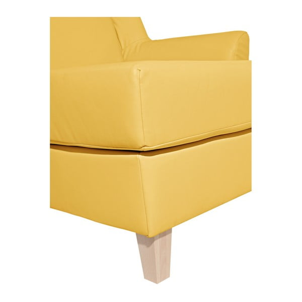 Žlutá koženková lenoška Max Winzer Judith