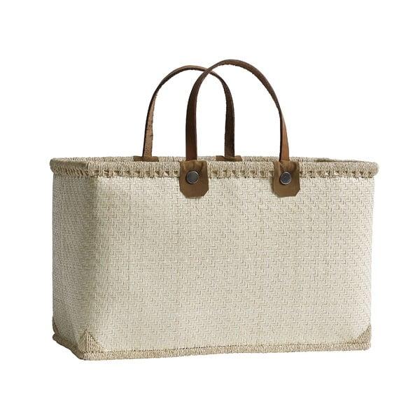 Nákupní taška Shopping, krémová