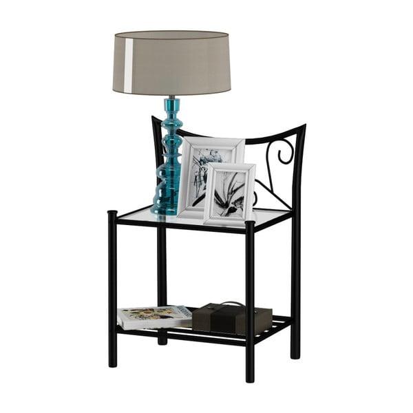 Černý noční stolek Støraa Isabelle