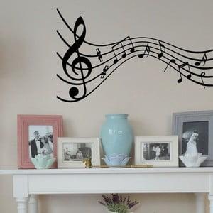Vinylová samolepka na stěnu Melodie