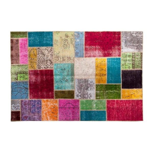 Vlněný koberec Allmode Multi Yan, 180x120 cm