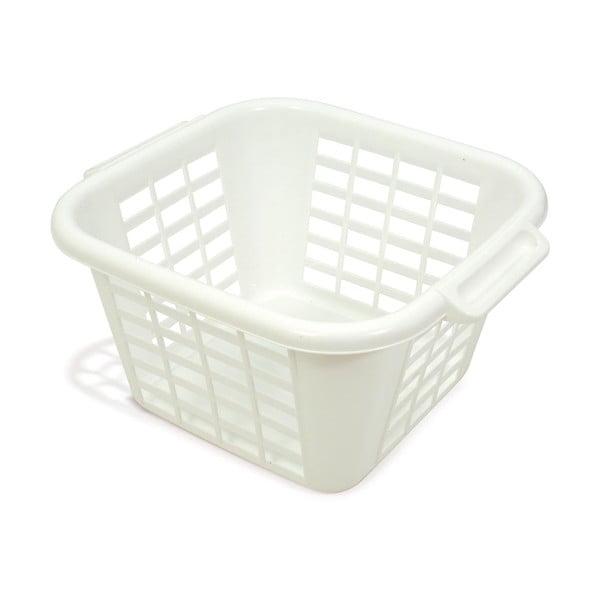 Krémovobiely kôš na bielizeň Addis Square Laundry Basket, 24 l