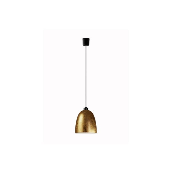 Zlaté závěsné svítidlo Sotto Luce AWA