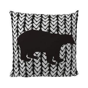 Pernă Black Shake Black Bear, 40x40 cm