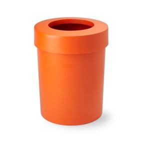 Odpadkový koš Cap, 20 l, oranžový