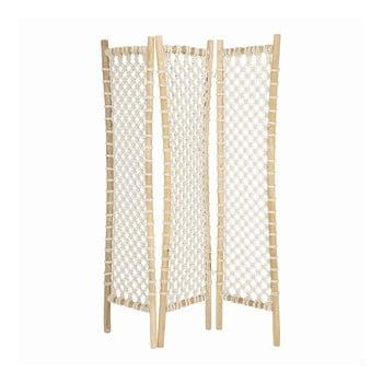 Paravan pliabil din lemn și material textil La Forma Praxila imagine