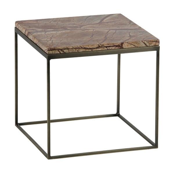 Sada 2 odkládacích stolků s mramorovými deskami De Eekhoorn Mellow