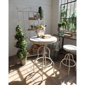 Barový stolek Vintage White