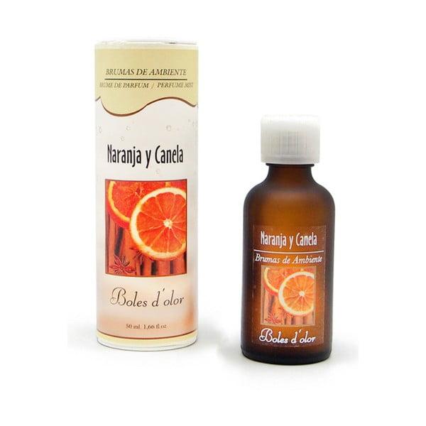 Esență cu aromă de portocale și scorțișoară pentru difuzor electric Ego Dekor Naranja y Canela, 50ml