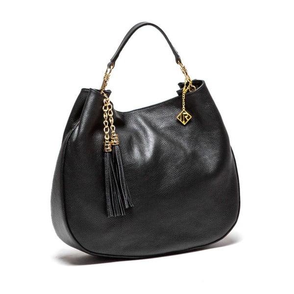 Kožená kabelka Isabella Rhea 1118, černá