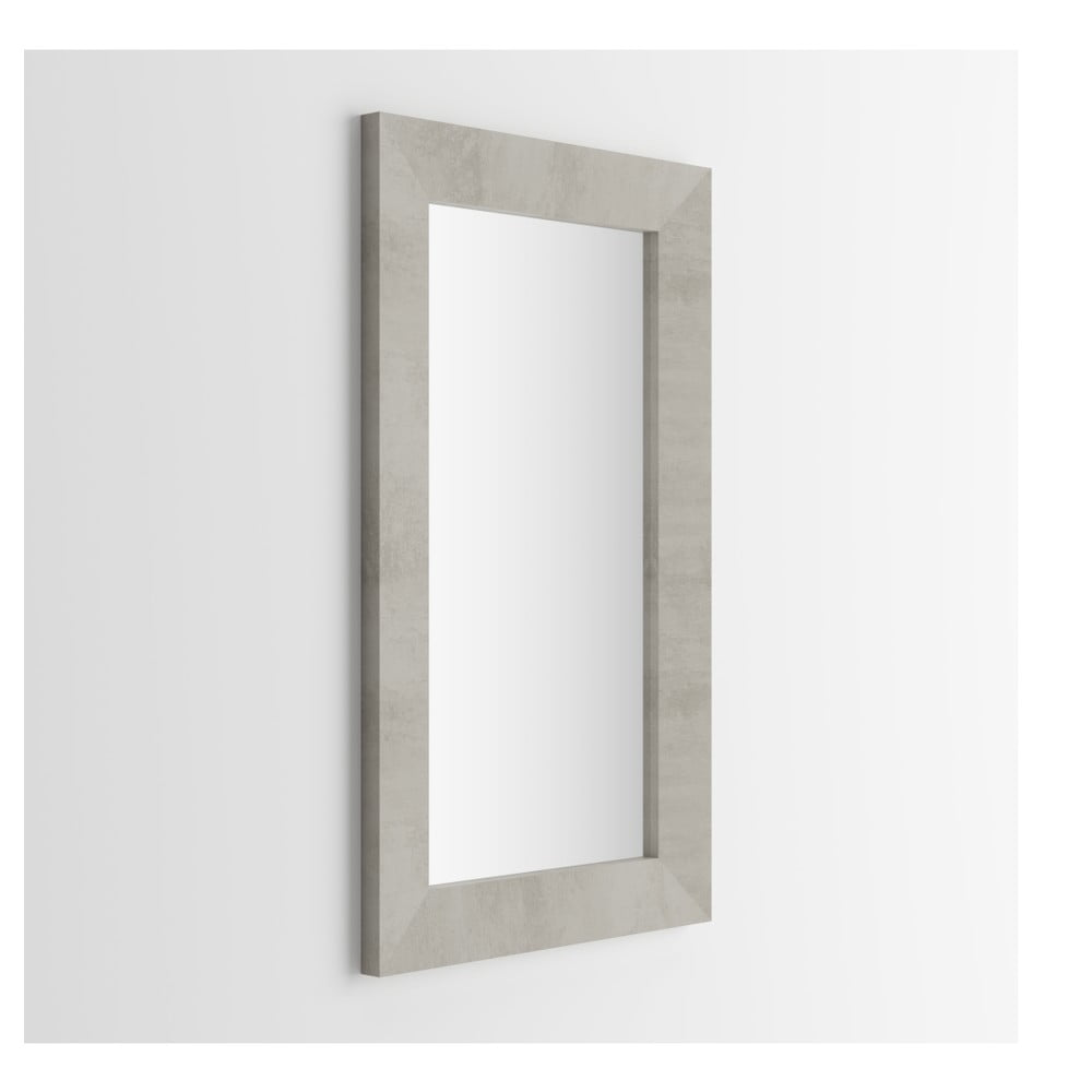 Zrcadlo v dekoru betonu MobiliFiver Giuditta, 65x110cm