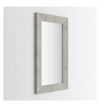 Oglindă, decor beton MobiliFiver Giuditta, 65 x 110 cm