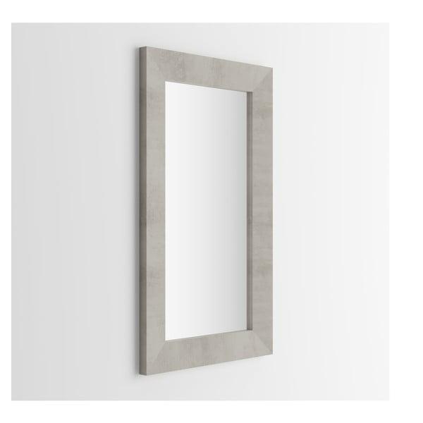 Giuditta tükör beton dekorral, 65 x 110 cm - MobiliFiver