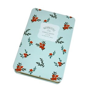 Plechový zápisník Sooth, zelený