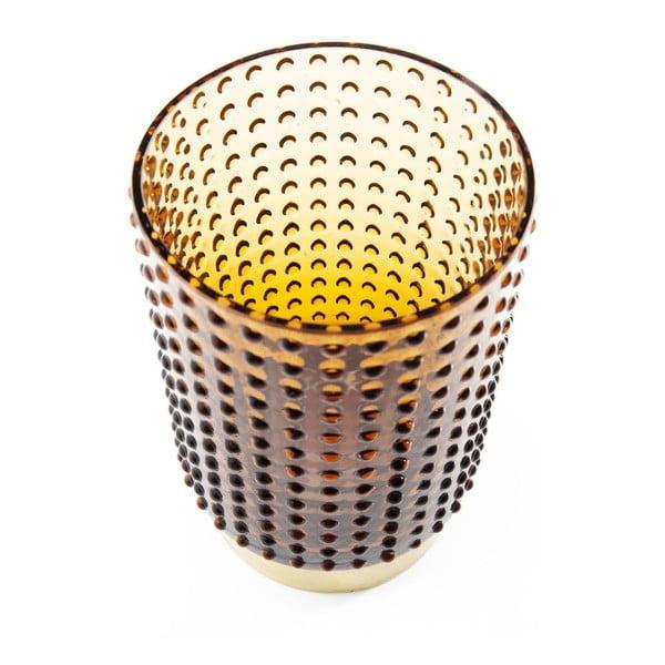 Vază Kare Design Barfly Brown, 14 cm, maro