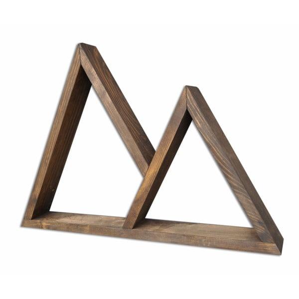 Dřevěná nástěnná police Aphex