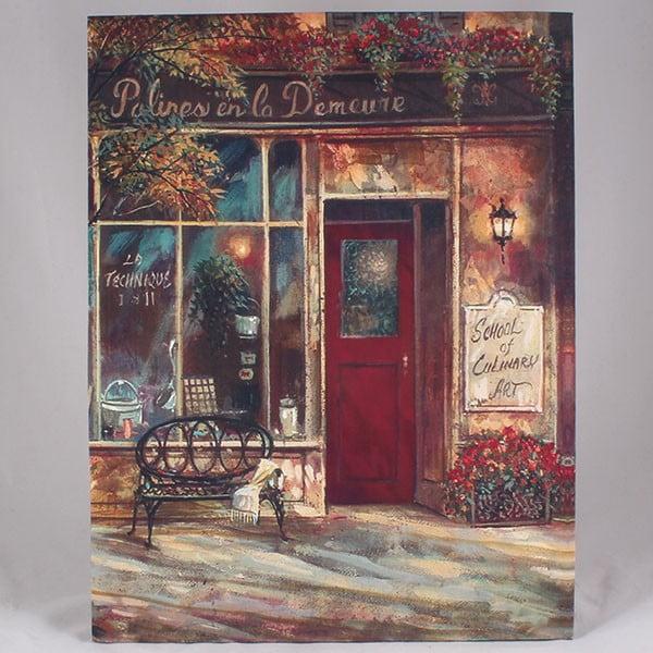 Obraz na plátně Culinary School, 35x45 cm