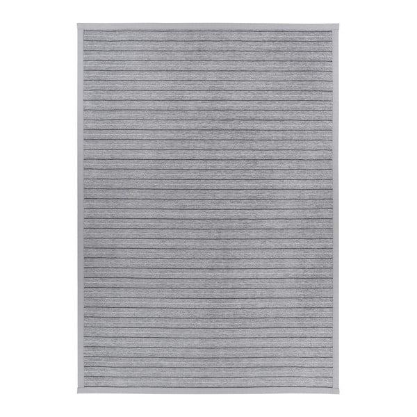 Šedý vzorovaný oboustranný koberec Narma Puise, 70 x 140cm