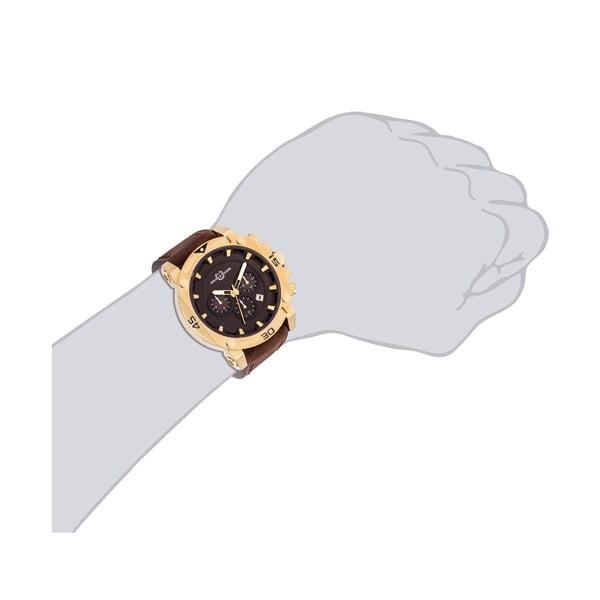 Pánské hodinky Draven Brown Gold