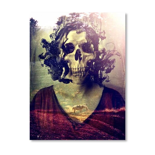 Autorský plakát Miss Skull