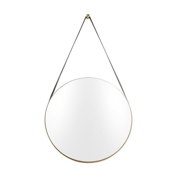 Oglindă de perete PT LIVING Balanced, ø 47 cm, auriu