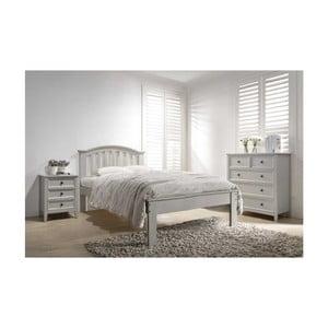 Dvoulůžková postel VIDA Living Mila, 198 x 150 cm
