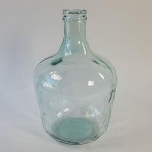 Váza Recycle Glass Green, 27x27x42 cm