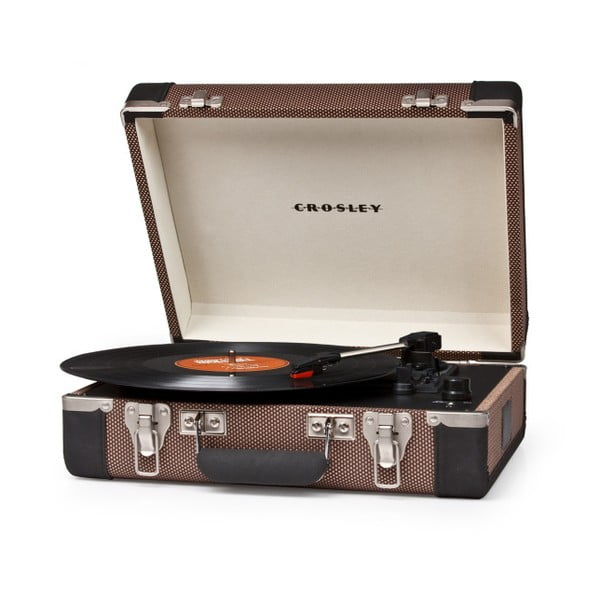 Brązowy gramofon Crosley Cruiser Executive