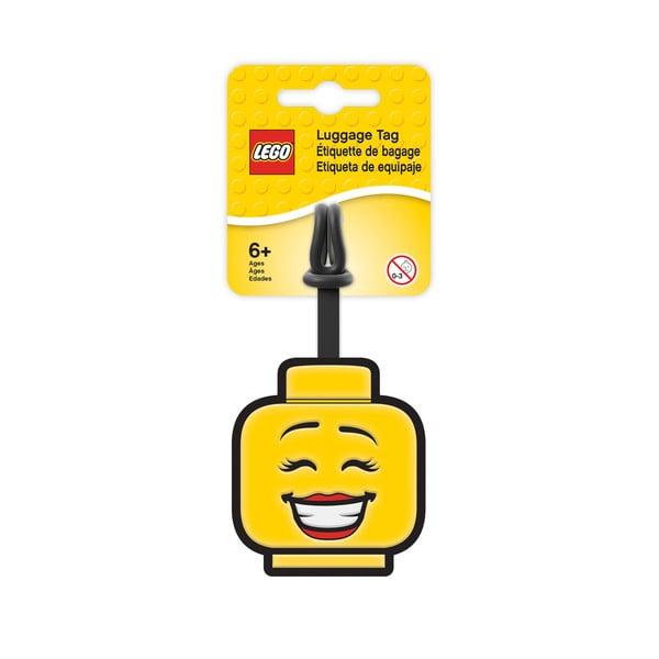 Etichetă pentru bagaje LEGO® Iconic Girl