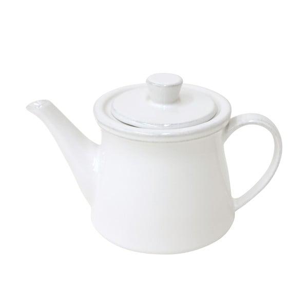 Bílá kameninová konvice na čaj Costa Nova Friso, objem  500ml