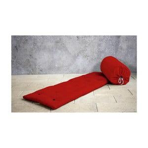 Futon/postel pro návštěvy Karup Bed In a Bag Red
