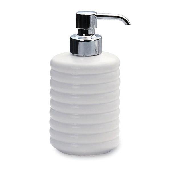 Držák na mýdlo Mat White Soap, 8x14x7 cm