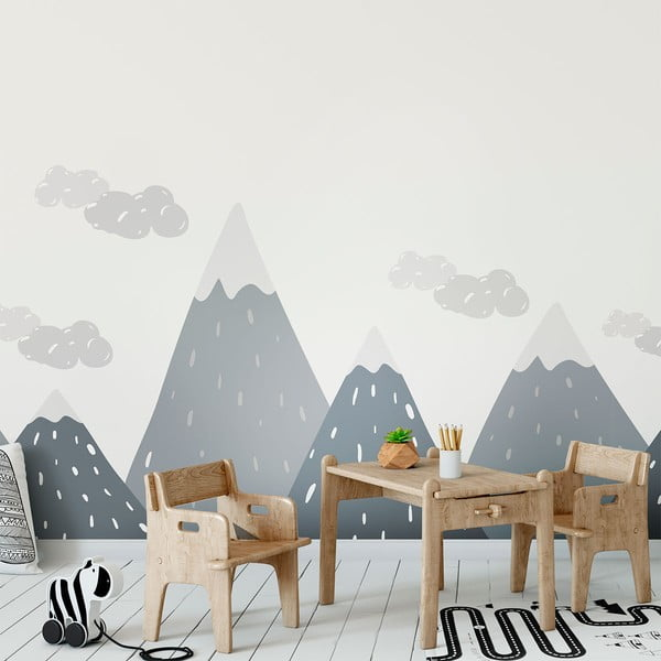 Autocolant Ambiance Scandinavian Giant Mountains Dinka