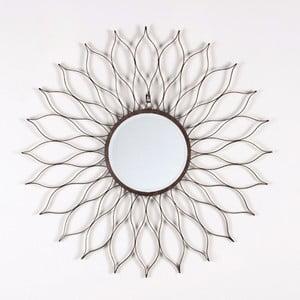 Nástěnné zrcadlo Thai Natura Adje, ⌀90cm