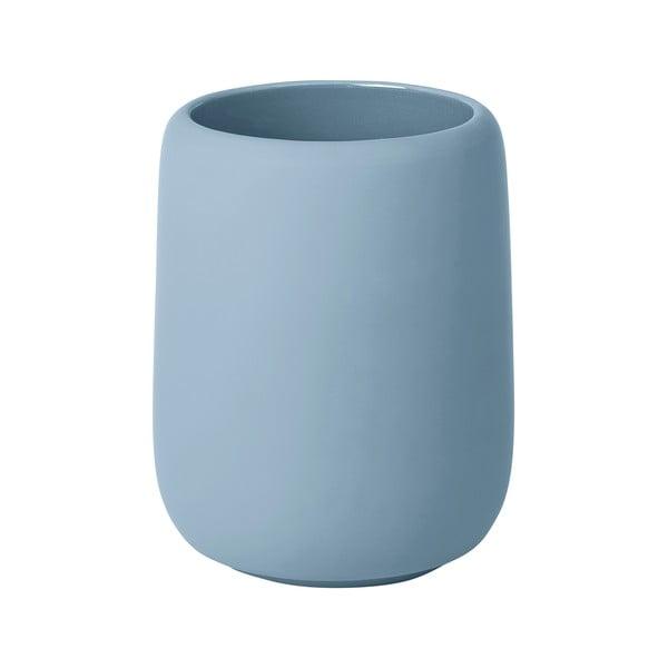 Modrý pohárik na zubné kefky Blomus Sono, 300 ml