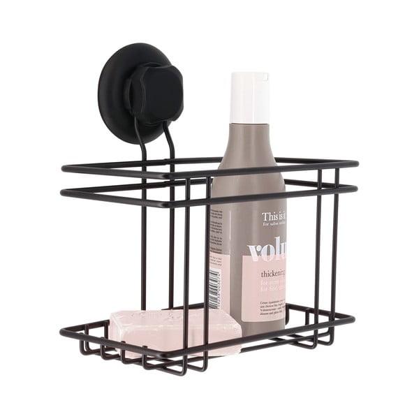 Etajeră / suport pentru duș Compactor Bestlock Black, negru