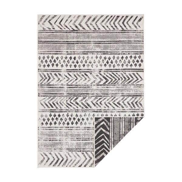 Covor adecvat pentru exterior Bougari Biri, 80 x 150 cm, negru-crem