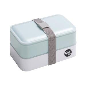 Mentolově modrý svačinový box Premier Housewares,12x10cm